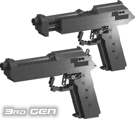 9 mm pistol image